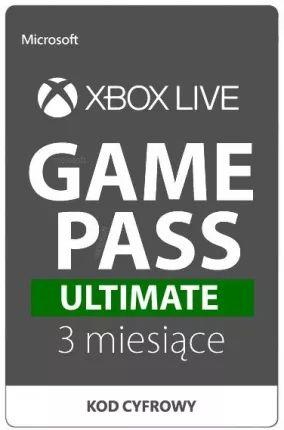 Xbox Game Pass Ultimate 3 miesiące (również dla obecnych subskrybentów)