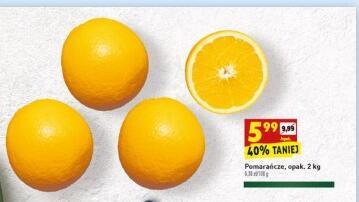 Pomarańcze 2 kg/opak. (3 zł/kg) @Biedronka