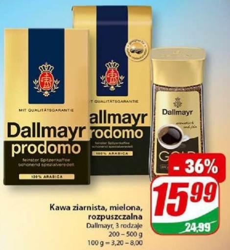 Dallmayr kawa 500g 100% Arabica ziarnista lub mielona w Dino