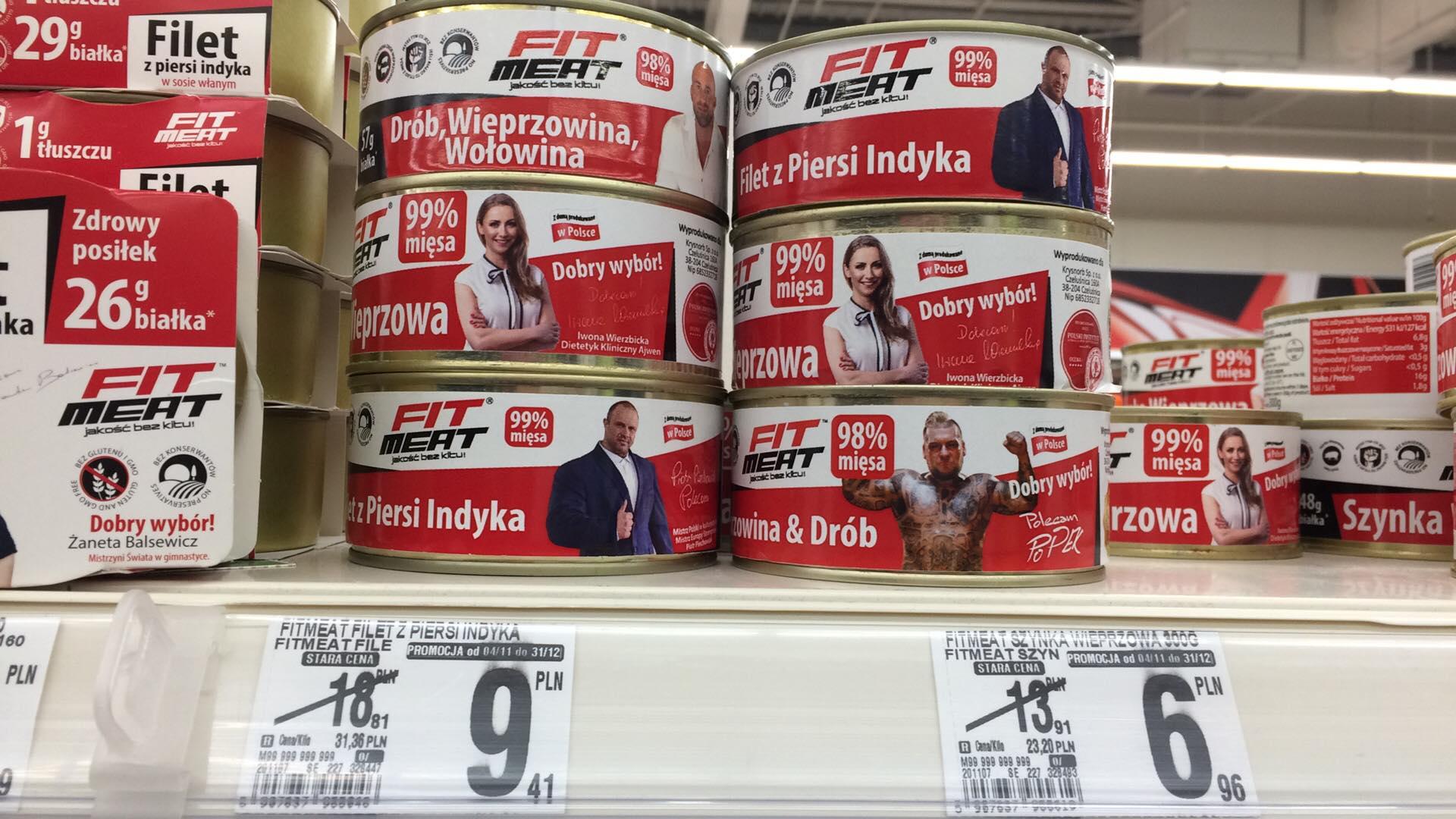 FitMeat - konserwy mięsne - Auchan Zielona Góra