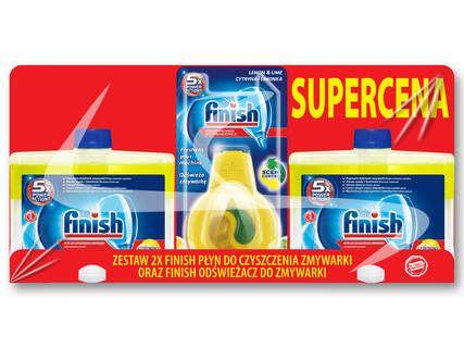 FINISH Środek do czyszczenia zmywarki+zapach-lidl