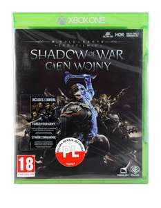 MIDDLE-EARTH SHADOW OF WAR CIEŃ WOJNY XBOX ONE PL