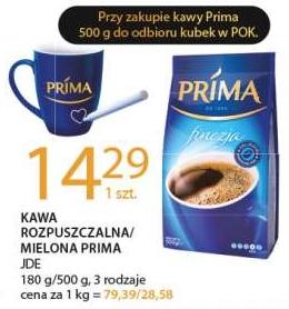 Przy zakupie kawy Prima kubek gratis @E.Leclerc
