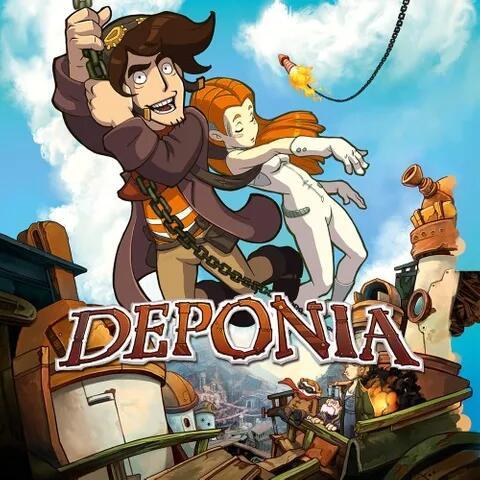 Gra Deponia na Nintendo Switch z regionu Rosja