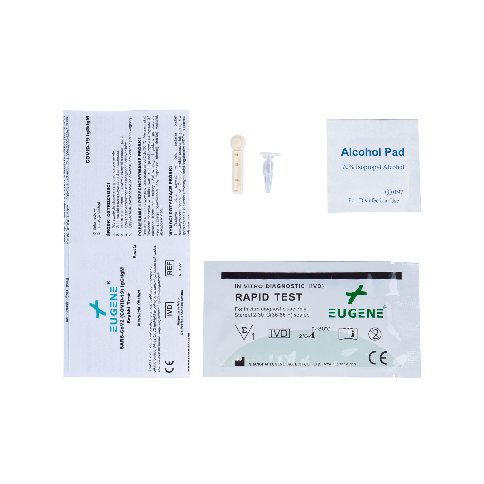 Szybki test na przeciwciała covid19