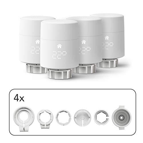 Inteligentne termostaty grzejnikowe tado° - czteropak (montaż pionowy) £138,13   dostępne również inne opcje