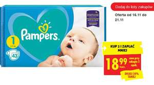 Pieluchy Pampers Active Baby S1