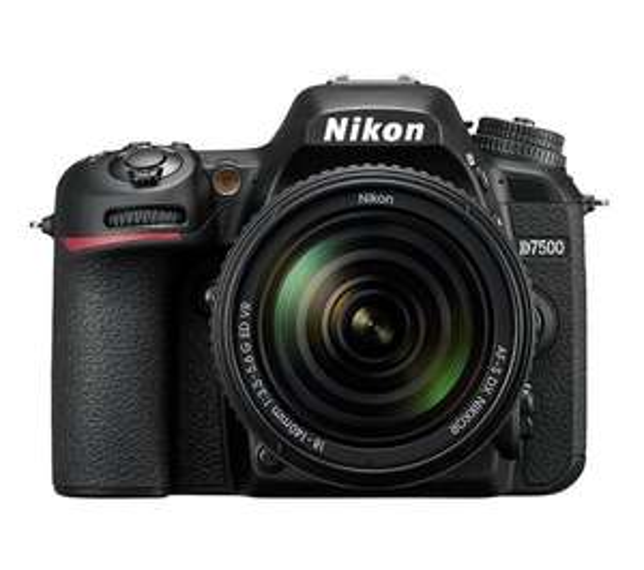 Lustrzanka cyfrowa Nikon D7500 + Obiektyw AF-S DX 18-140mm ED VR @Euro