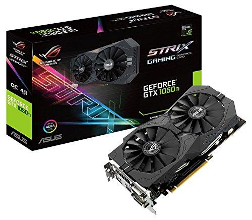 Karta graficzna Asus ROG Strix GeForce GTX 1050TI Gaming OC 4GB GDDR5