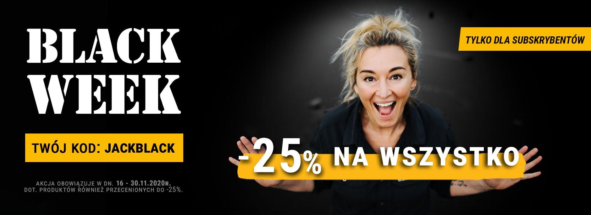 -25% na wszystko w Jack Wolfskin