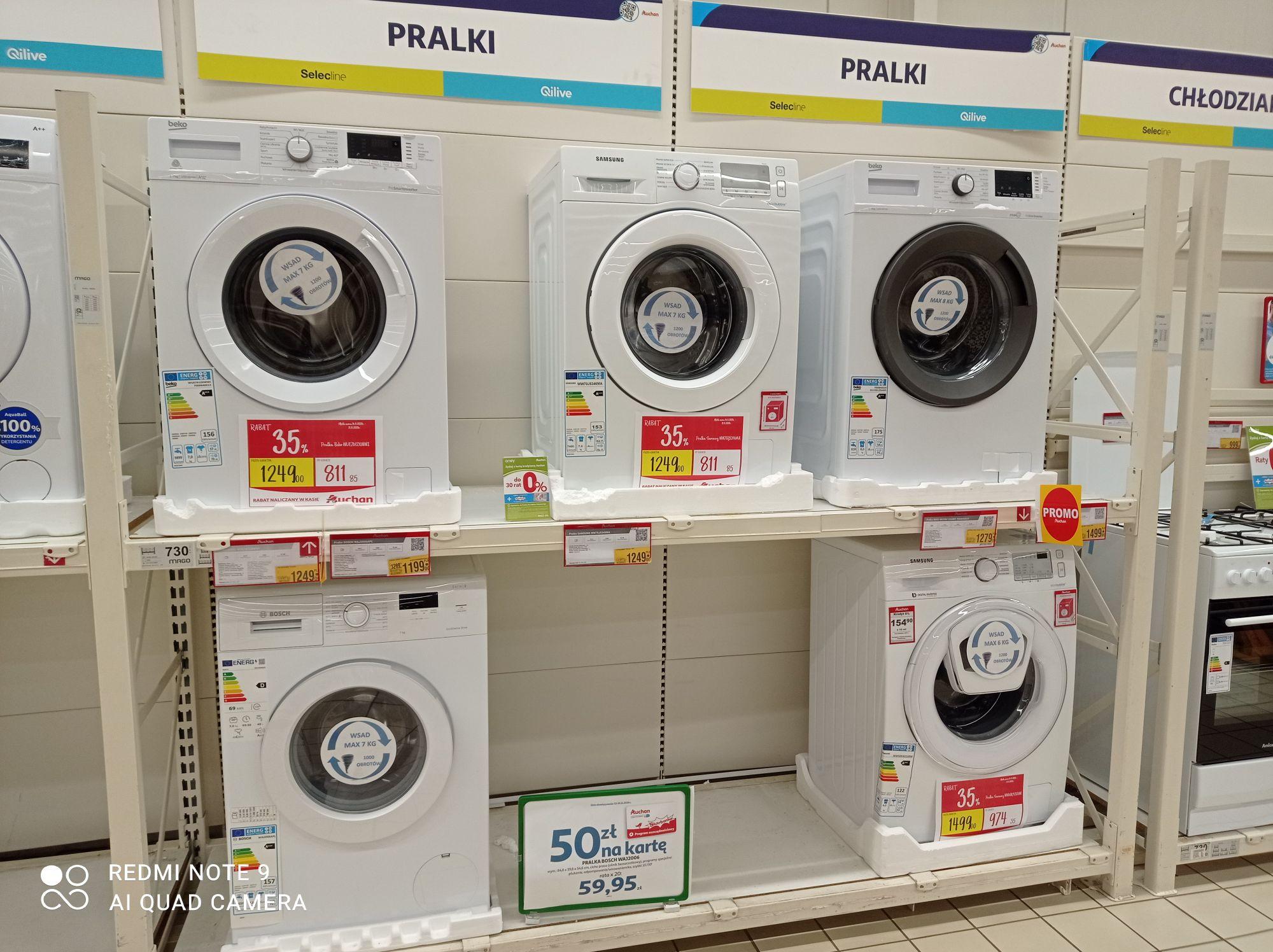 Promocje na duże AGD Auchan