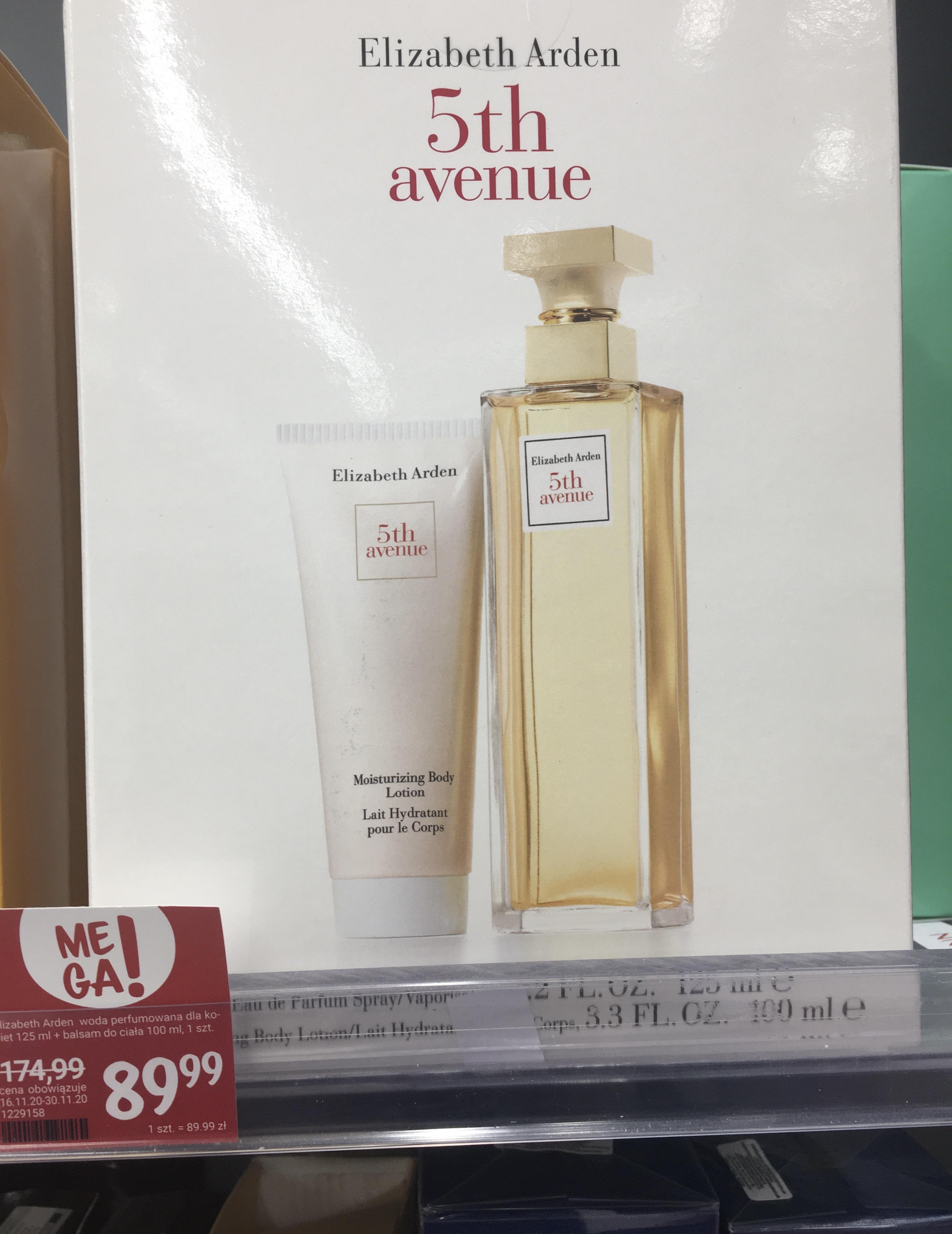 ELIZABETH ARDEN 5TH AVENUE woda perfumowana dla kobiet 125 ml + balsam do ciała 100 ml