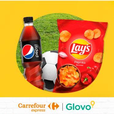 GLOVO darmowa dostawa z Carrefour (mwz 50zł)