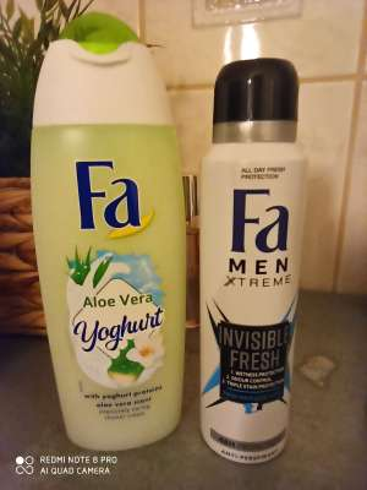 Żel pod prysznic gratis FA Aloe Vera - Rossman
