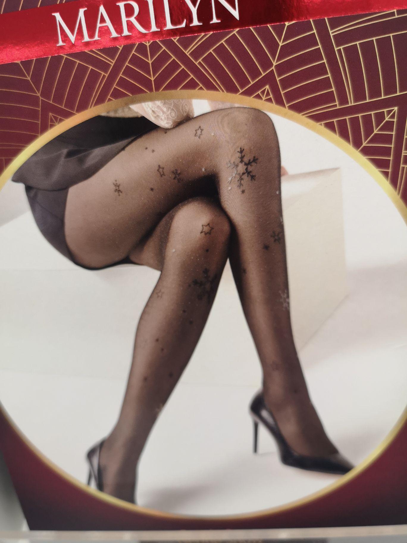 ROSSMANN: Wzorzyste rajstopy Marilyn w super cenie! Świąteczne wzory, brokaty, kabaretki i inne