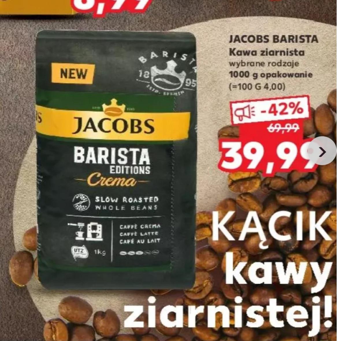 KAWA Jacobs BARISTA Edition CEEMA 1KG