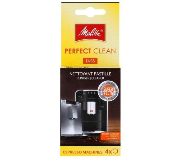 Melitta Perfect Clean Tabs 4 szt. - tabletki do czyszczenia ekspresów do kawy