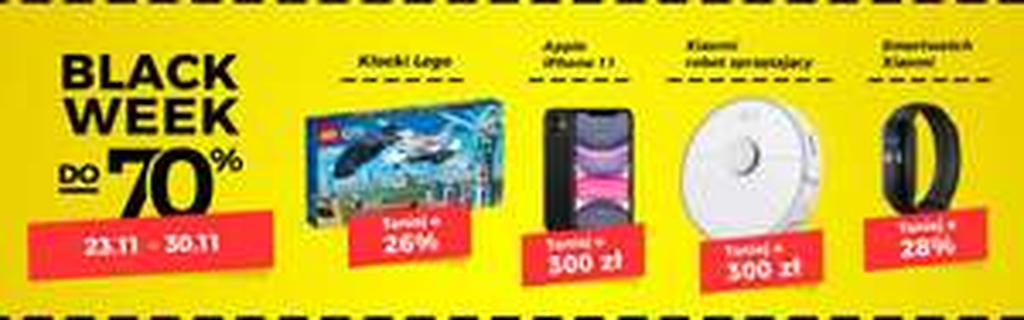 Allegro - Black week oraz Cyber Monday - zbiorcza