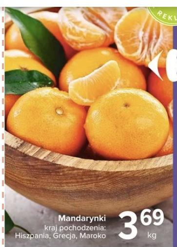 Carrefour mandarynki