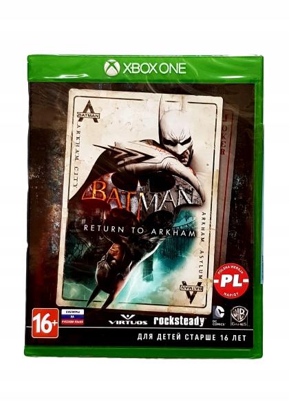 XBOXONE BATMAN RETURN TO ARKHAM X1 NOWA