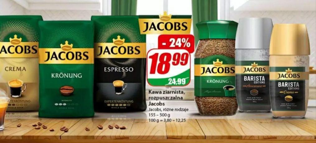 Kawa ziarnista, rozpuszczalna Jacobs różne rodzaje