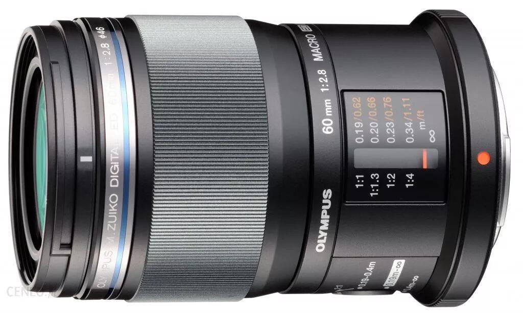 Obiektyw M.Zuiko Digital ED 60mm F2.8 Macro @Olympus