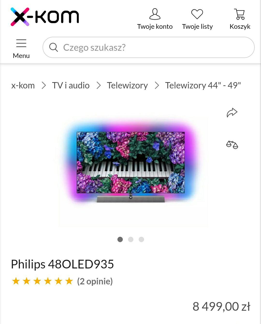 48OLED935 Philips