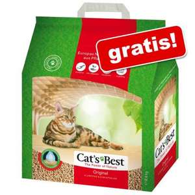Gratis! Cat's Best Original żwirek zbrylający się