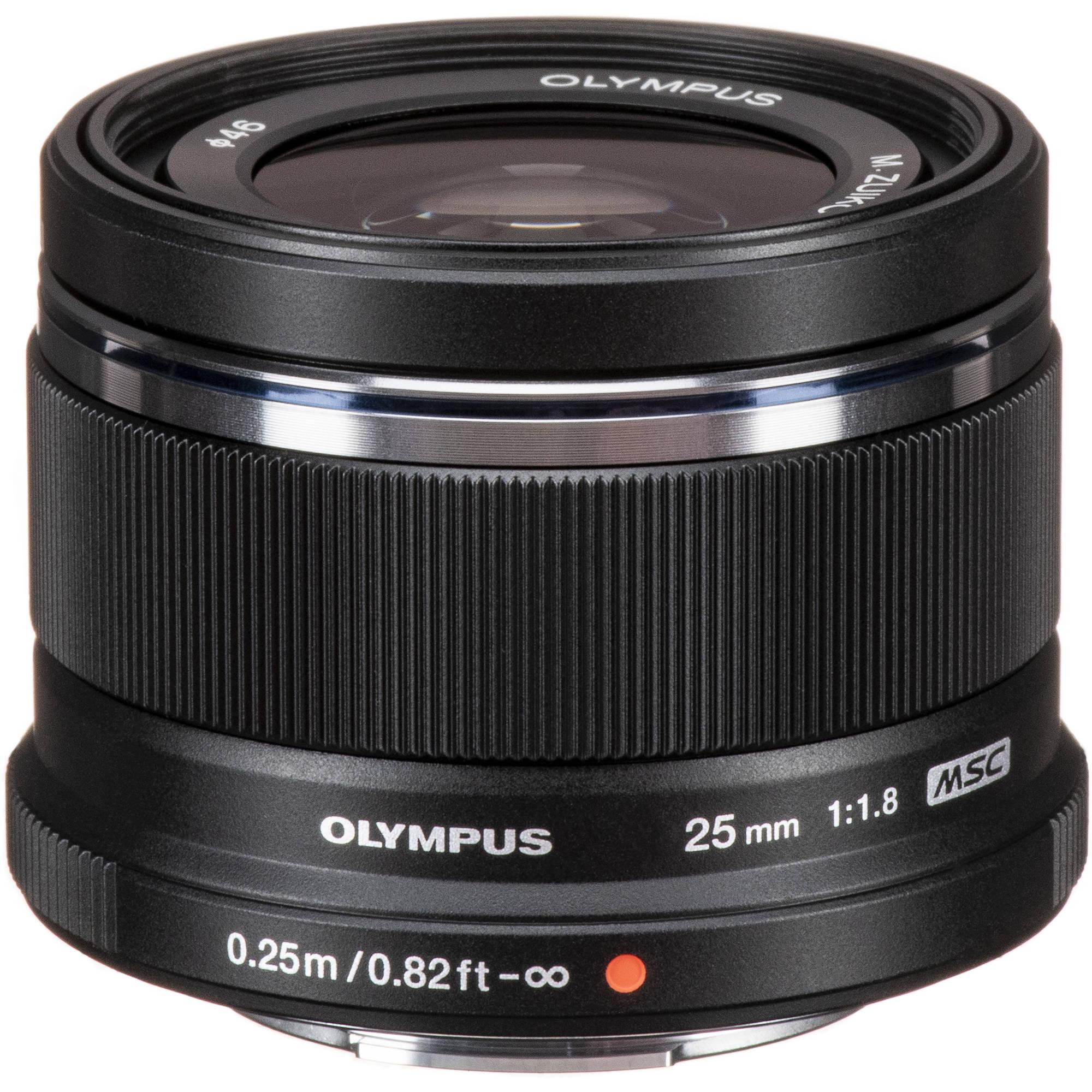Obiektyw Olympus 25mm 1.8 M.ZUIKO (1199zł - 350zł cashback = 849zł)
