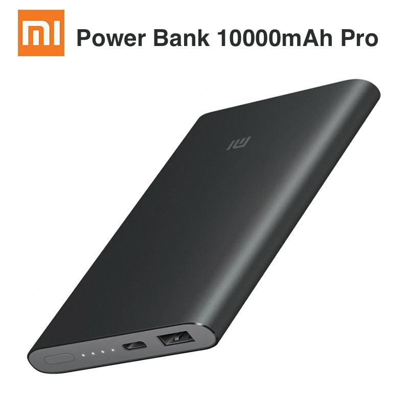 Powerbank Xiaomi 10000mAh 2, wspiera QC 2.0