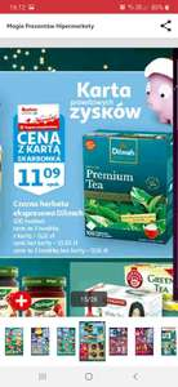 Herbata Dilmah Premium w Auchan