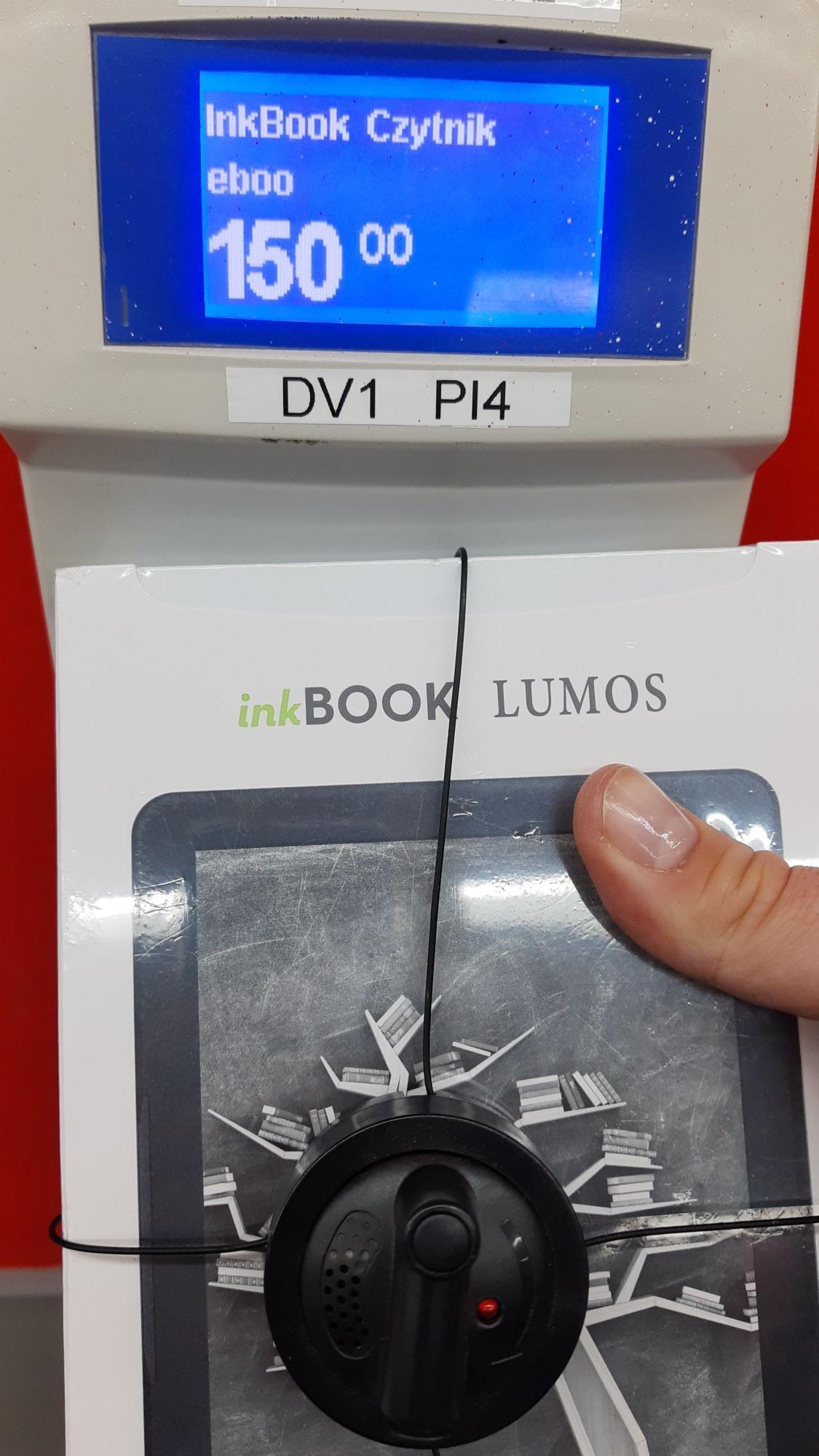 InkBook Lumos 150 zł w Kaufland w Sochaczewie. Może ogólnopolska.