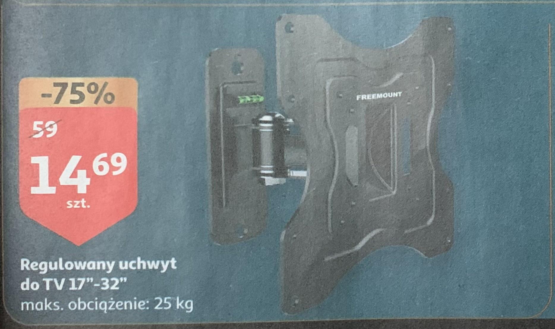 "Uchwyt regulowany do TV 17""-32"" @Auchan"