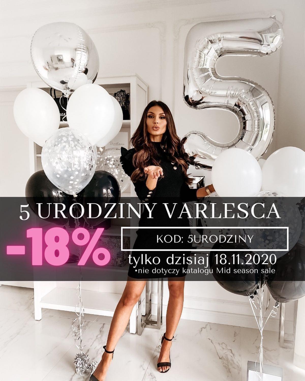 -18% procent na wszystko w Varlesca