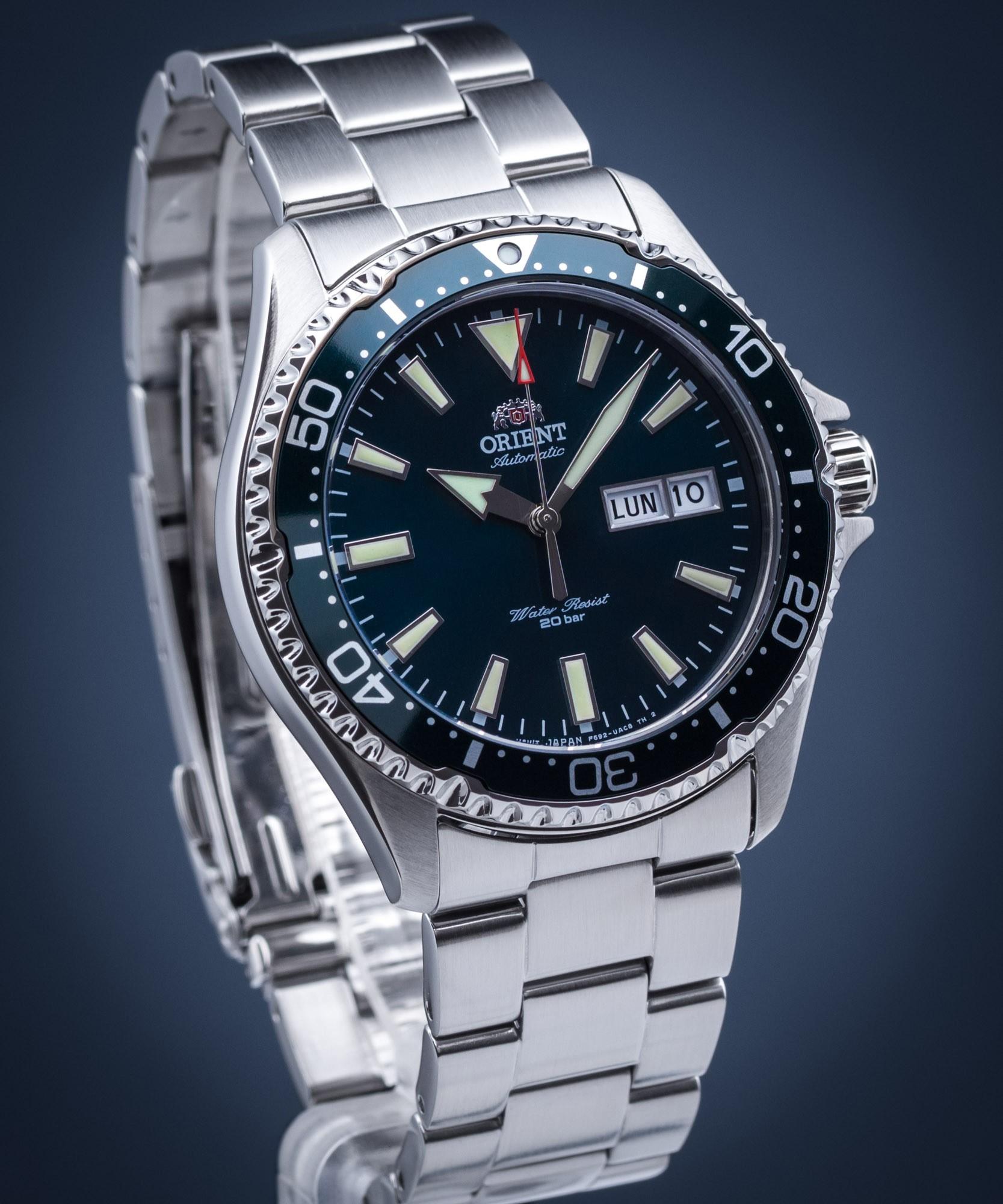 Zegarek Orient Kamasu Zielony RA-AA0004E19B - możliwe 814,80