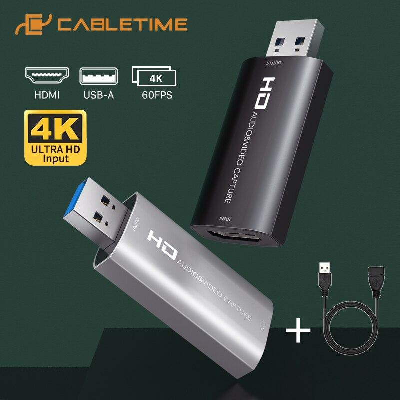 CABLETIME | karta przechwytująca video USB/HDMI US $8.34