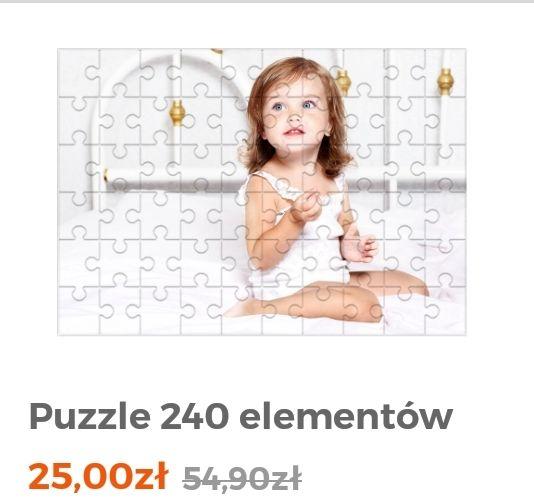 Puzzle z Twoim zdjęciem 240 elementów