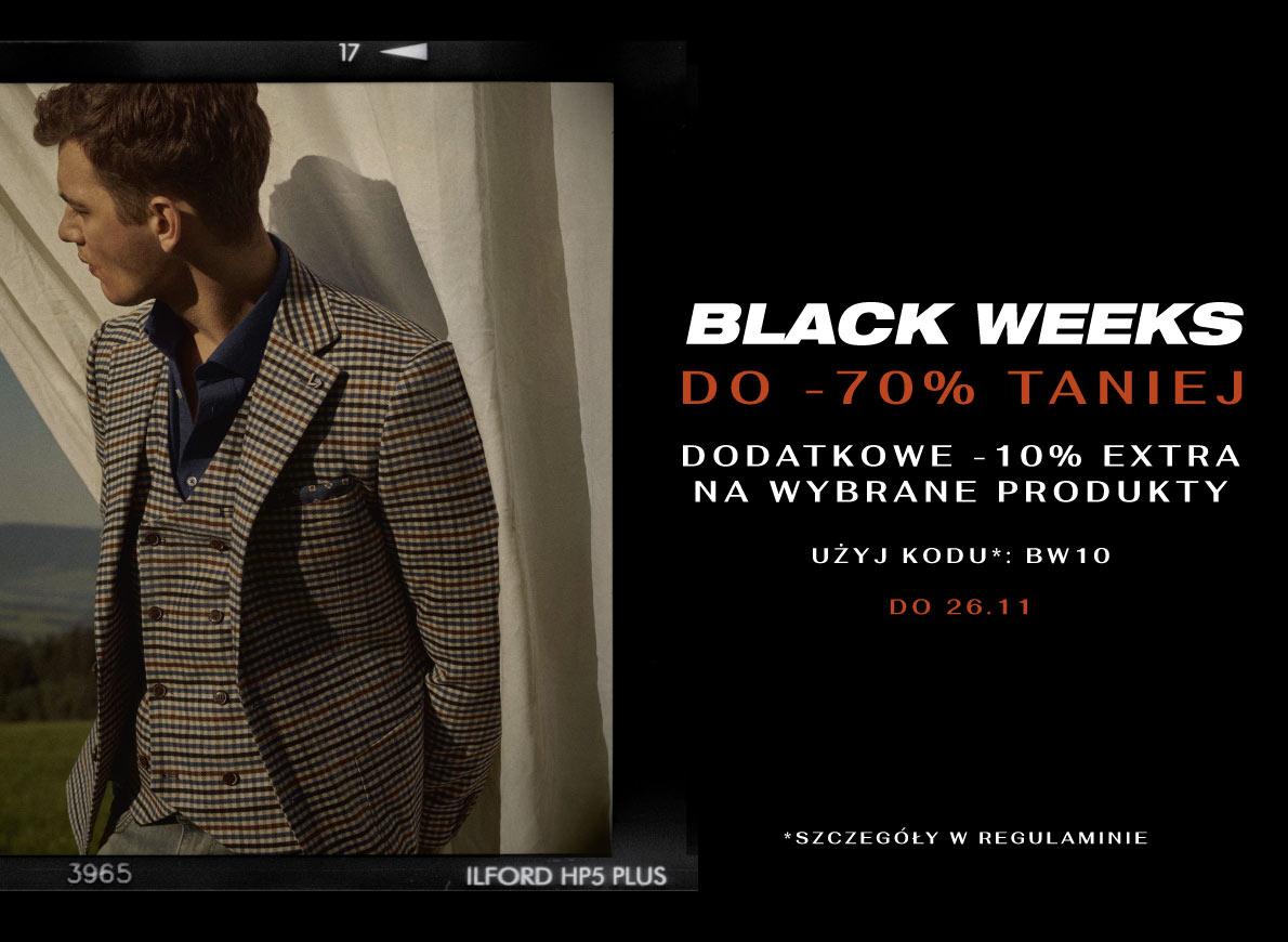 Do -70% + dodatkowe -10% na Black Weeks w Lancerto