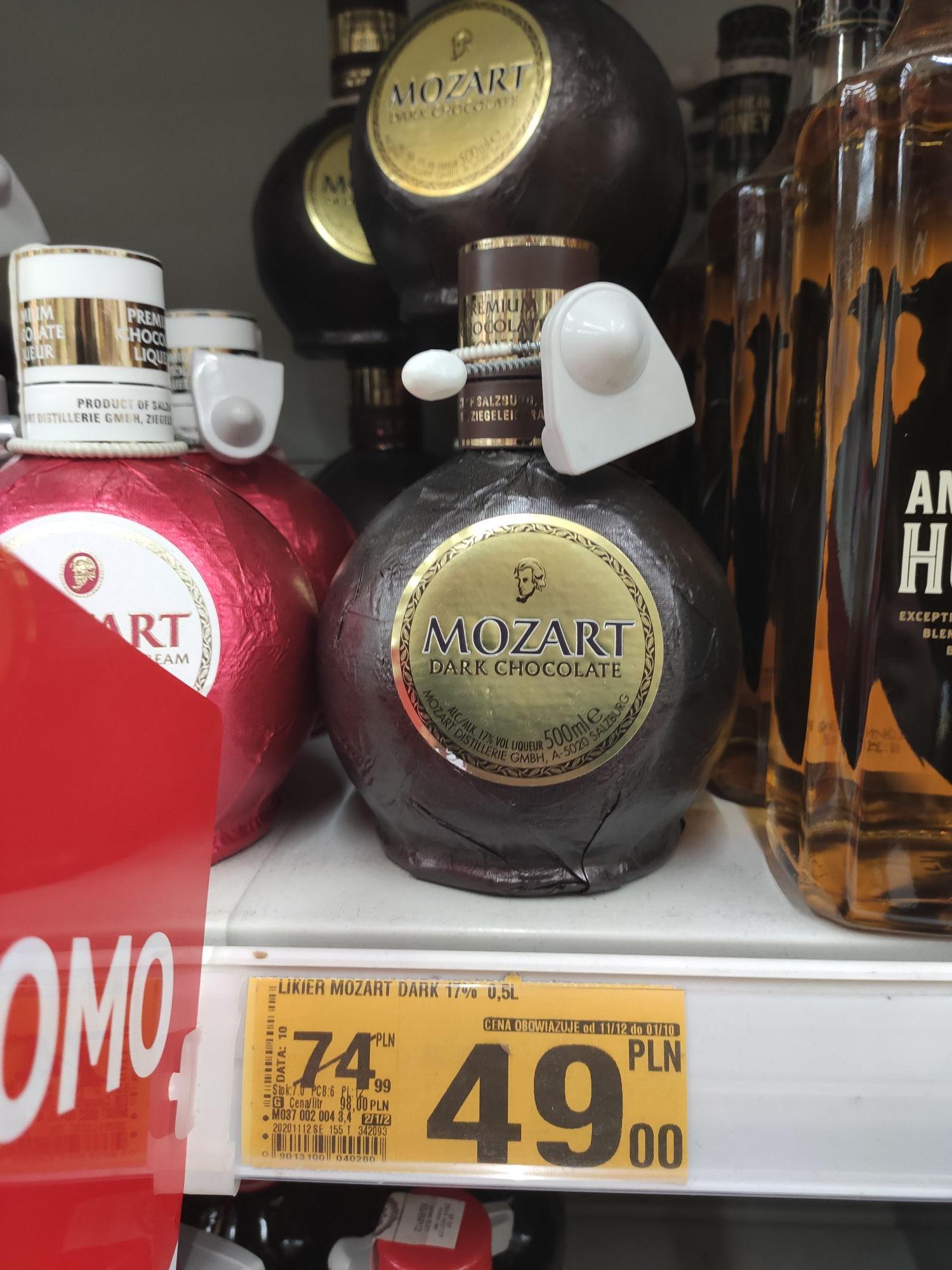 Likier Mozart Dark Chocolate 0.5L