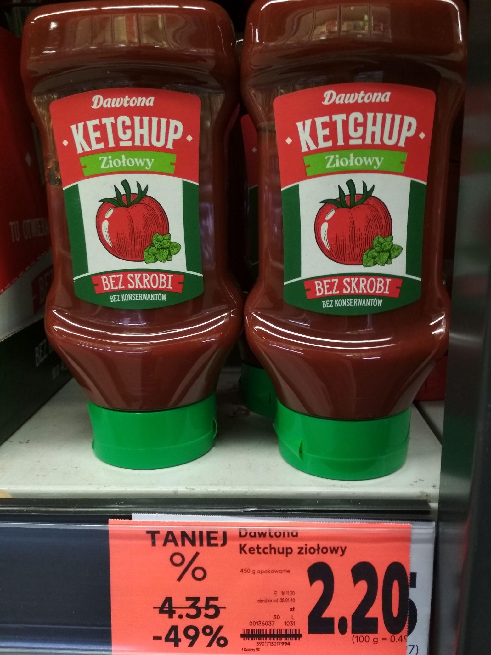 Ketchup Dawtona ziołowy