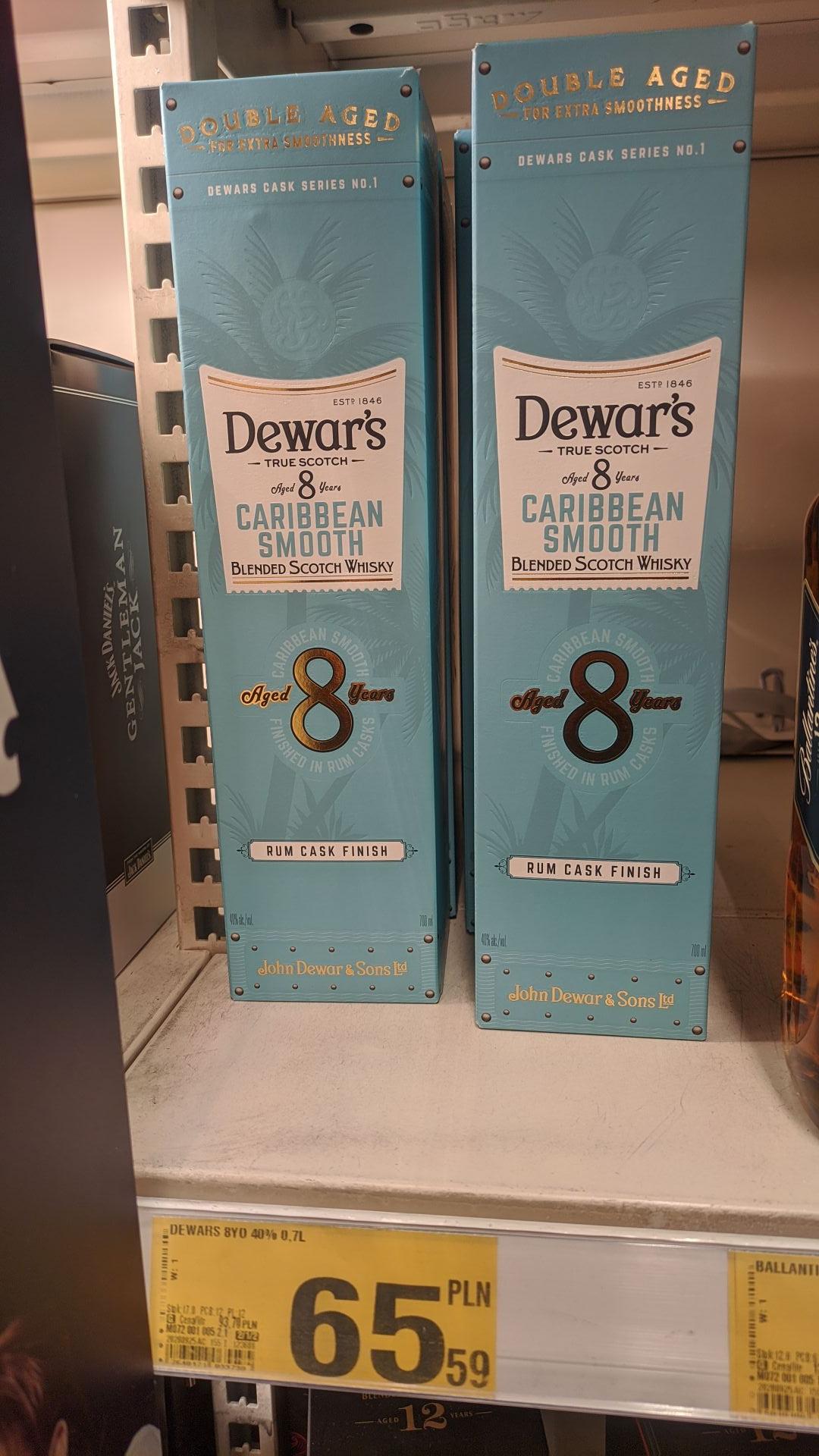 Dewar's 8 yo caribbean smooth Auchan