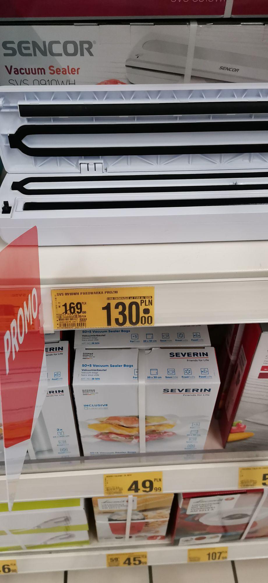 Kompaktowa zgrzewarka próżniowa Sencor SVS 0910WH