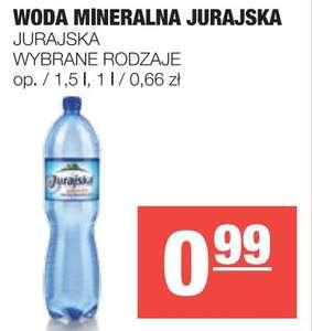 Woda mineralna Jurajska niegazowana