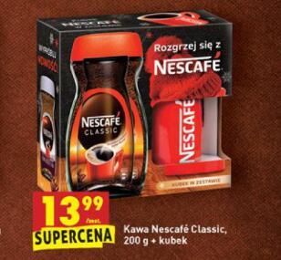 Nescafe classic 200 g kawa rozpuszczalna + kubek gratis