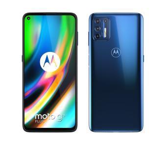 Smartfon Motorola Moto g9 plus 4/128GB (niebieski). Snapdragon 730.