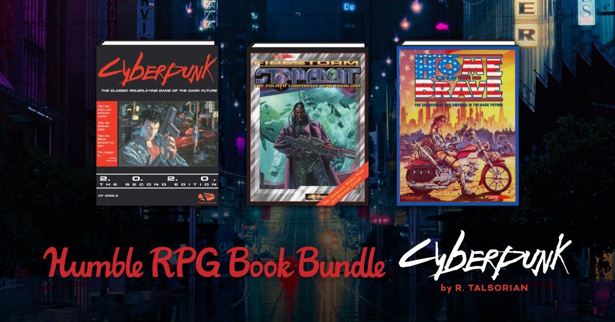 Humble RPG Book Bundle: Cyberpunk by R. Talsorian