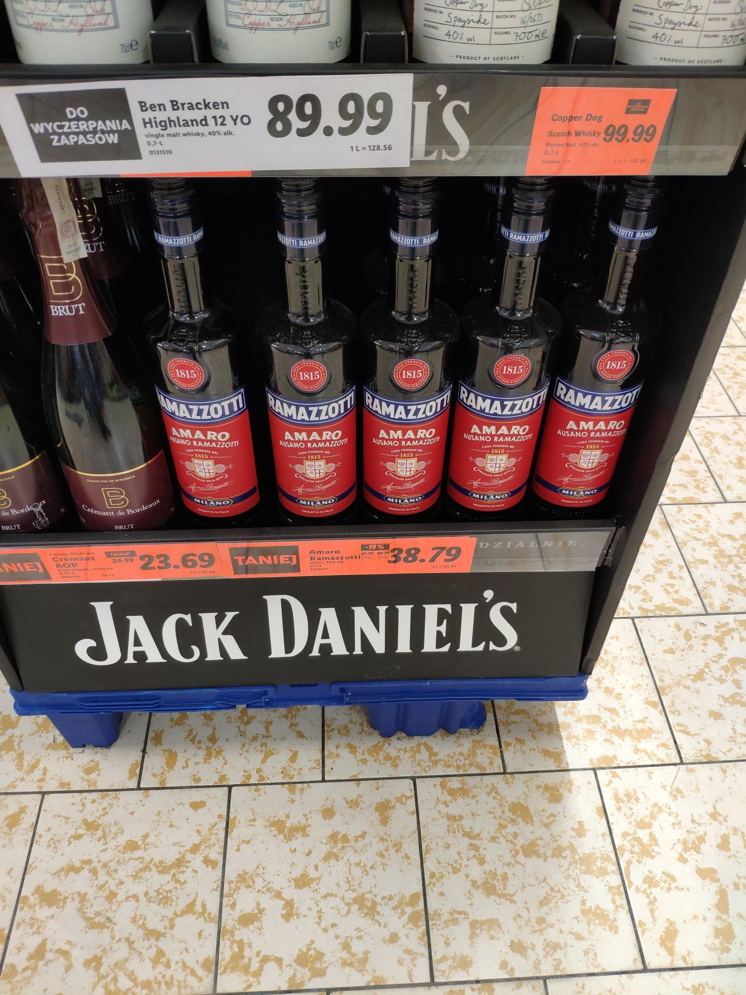 Likier Ramazzotti Amaro 30% - Lidl