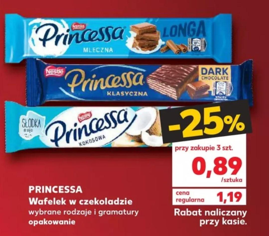 Princessa za 0,89 przy zakupie 3 sztuk Kaufland