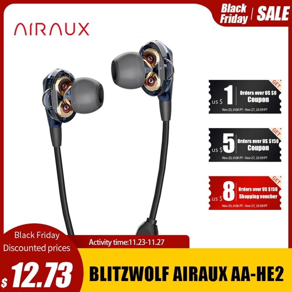 Słuchawki BlitzWolf AIRAUX AA-HE2 - kod zniżkowy @ Aliexpress