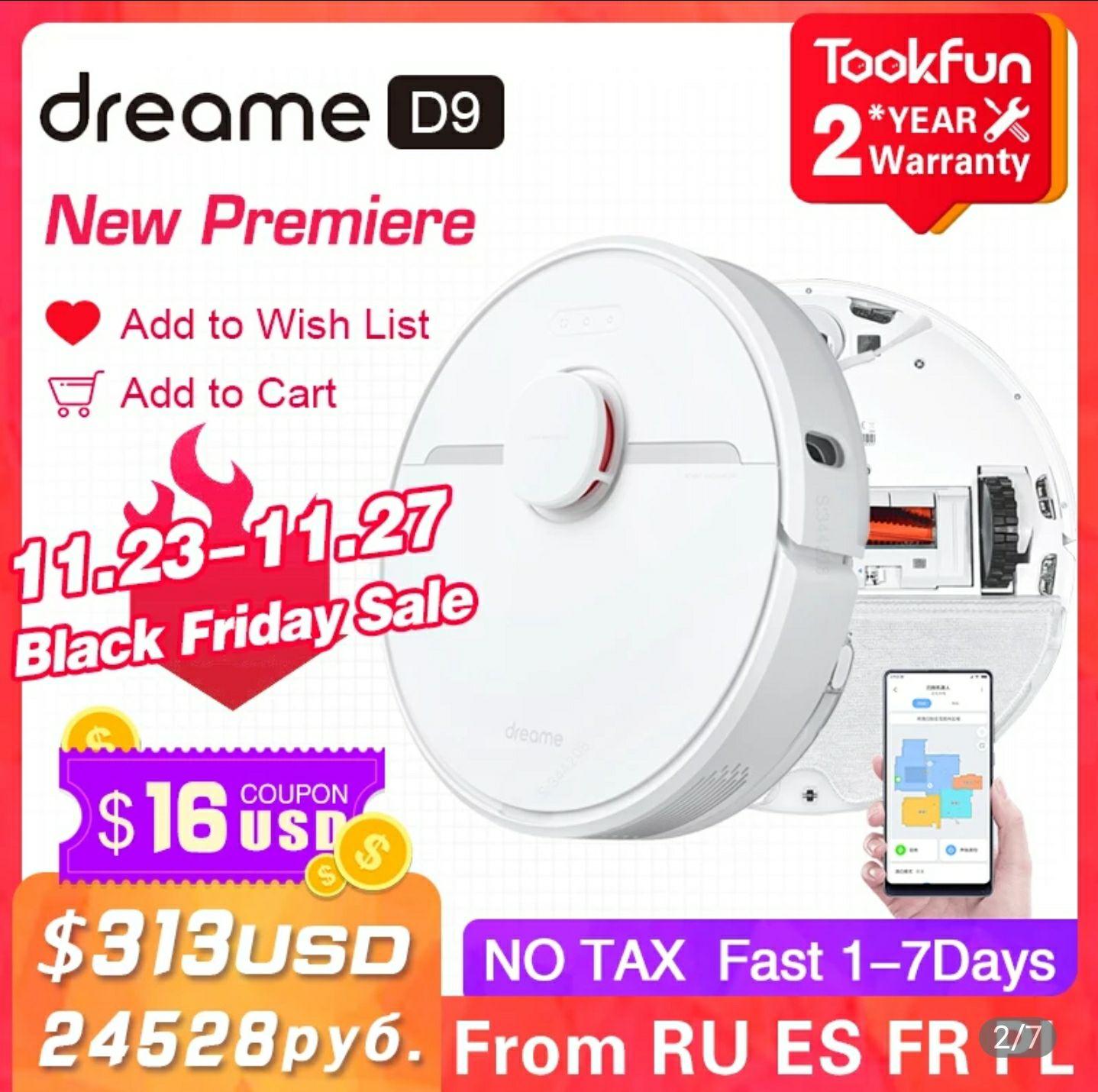 Dreamer D9 na Black Week (313$)